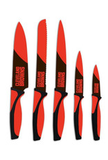 Cleveland Browns 5 Piece Cutlery Knife Set