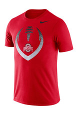 Nike Ohio State Buckeyes Nike Football Icon Performance T-Shirt