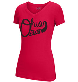 Top of the World Ohio State Buckeyes Script Ohio V-neck Tee