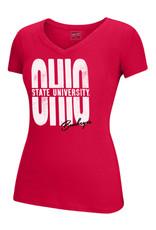 Top of the World Ohio State Buckeyes OHIO V-Neck Tee