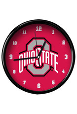 Ohio State Buckeyes Athletic O Wall Clock