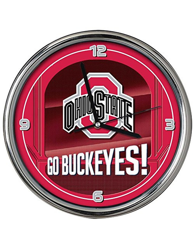 Ohio State Buckeyes Go Team Clock
