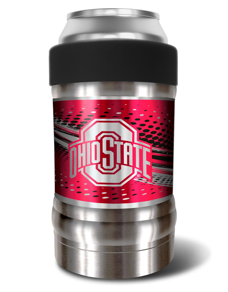 """Ohio State Buckeyes The """"LOCKER"""" Vacuum Insulated Can and Bottle Holder"""