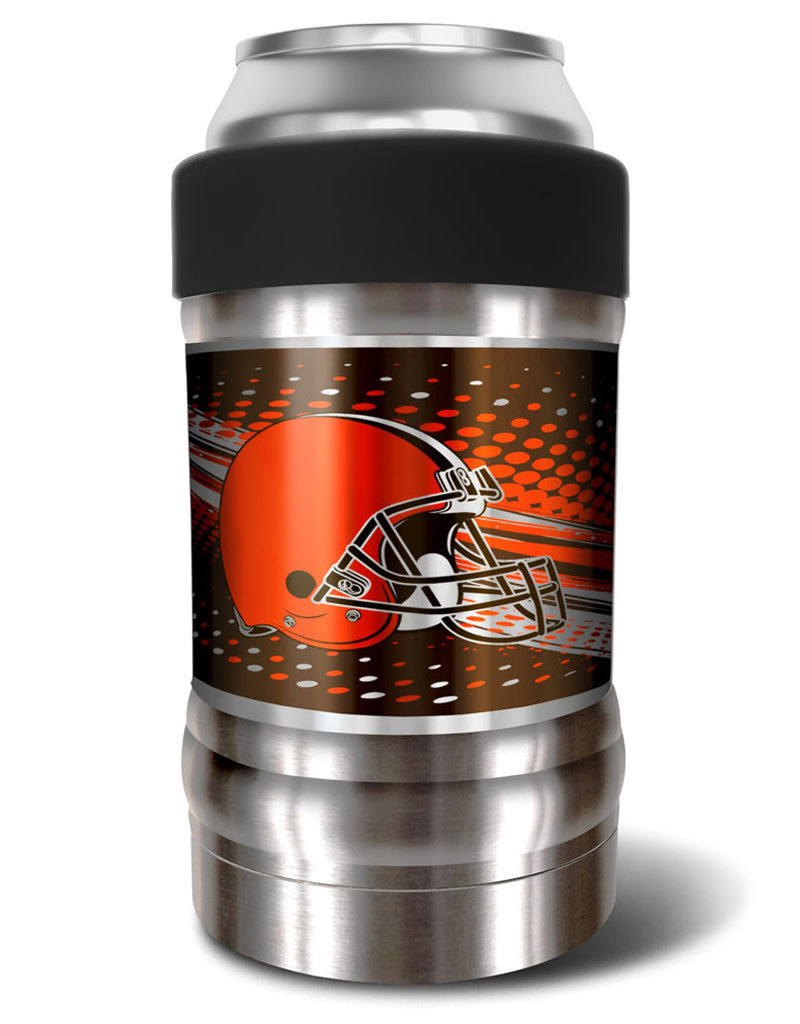 "Cleveland Browns The ""LOCKER"" Vacuum Insulated Can and Bottle Holder"