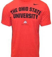 Nike Ohio State Buckeyes Nike Phrase Performance T-Shirt