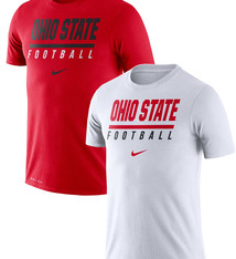 Nike Ohio State Buckeyes Nike Icon Wordmark Performance T-Shirt