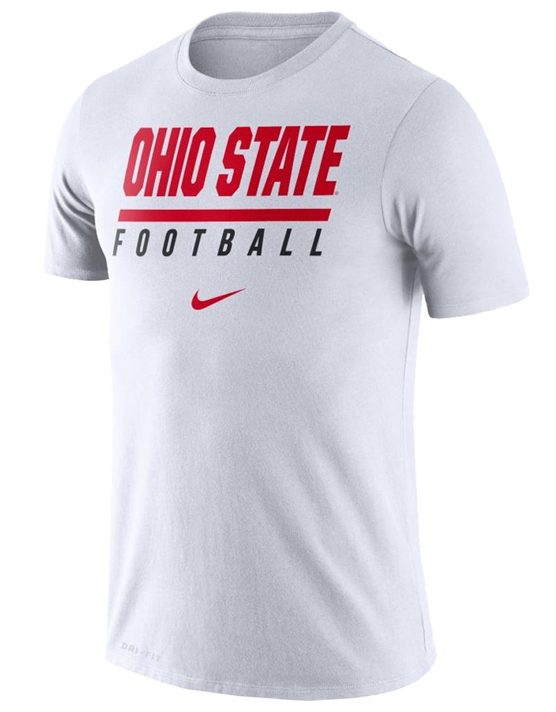 Nike Ohio State Buckeyes Nike Icon Wordmark Performance T-Shirt