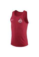 Nike Ohio State University Red Marled Tank
