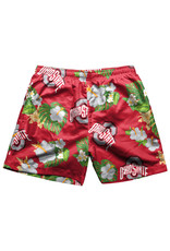 Ohio State Buckeyes Floral Swimming Trunks