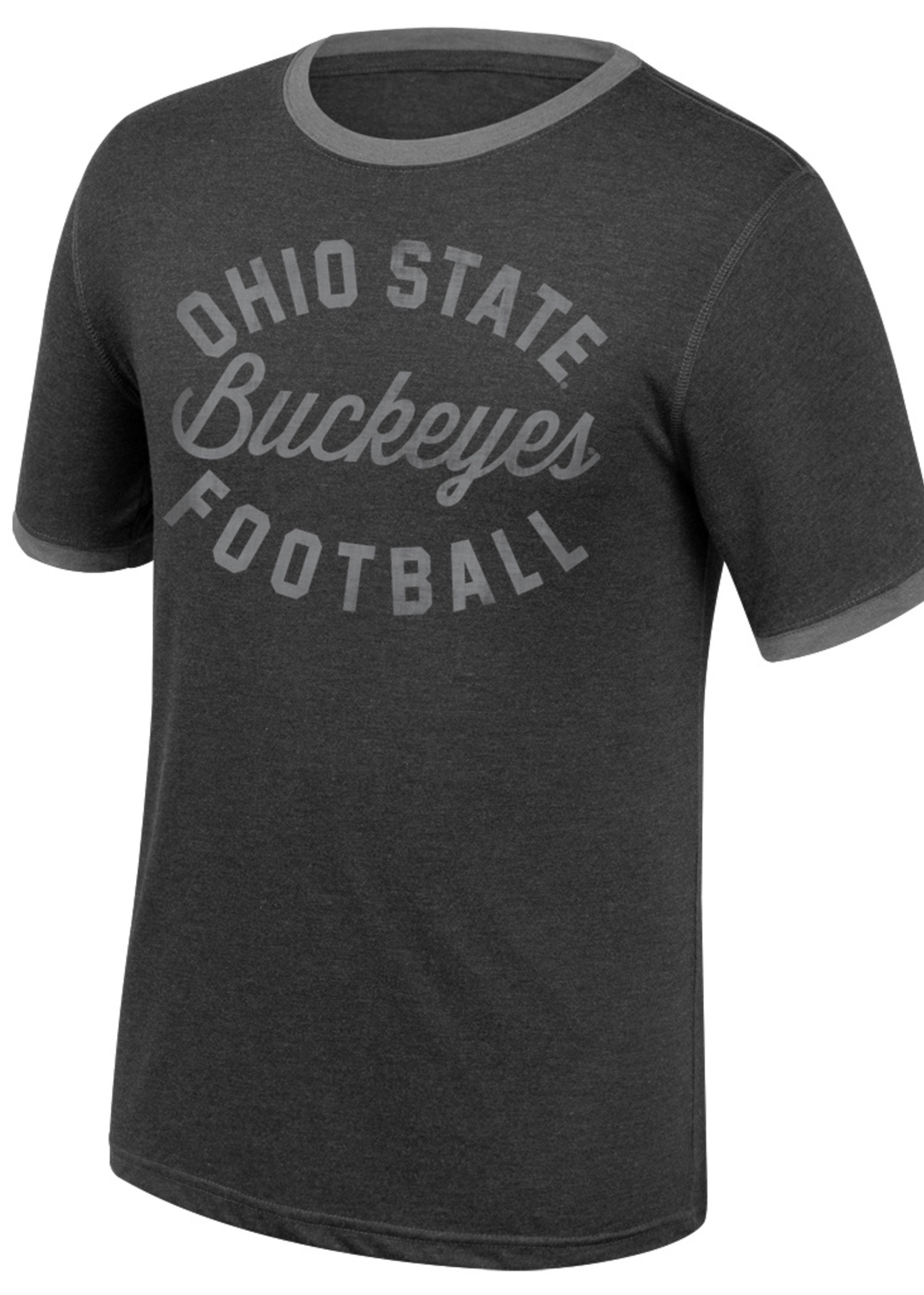 Top of the World Ohio State Buckeyes Football Ringer Tee