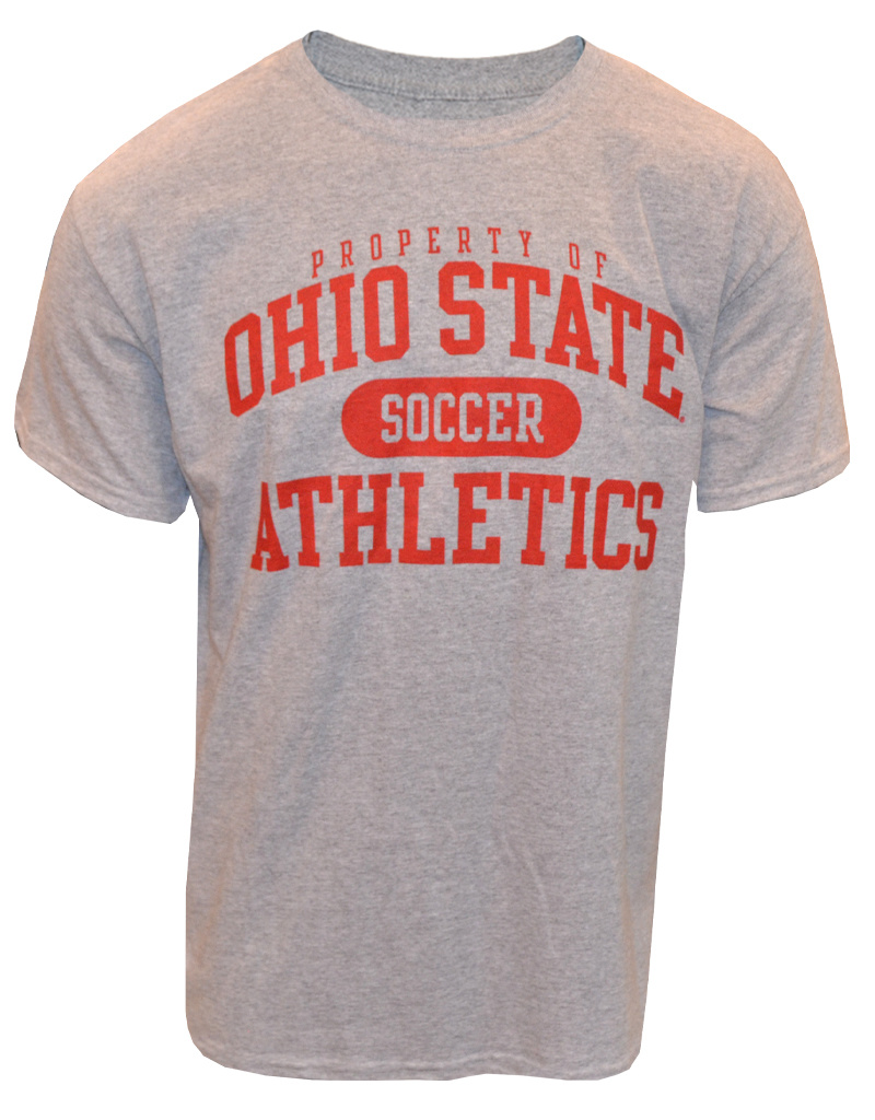 Top of the World Ohio State University Property Of Soccer Tee