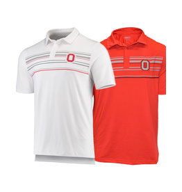 Top of the World Ohio State Buckeyes Stripe Polo