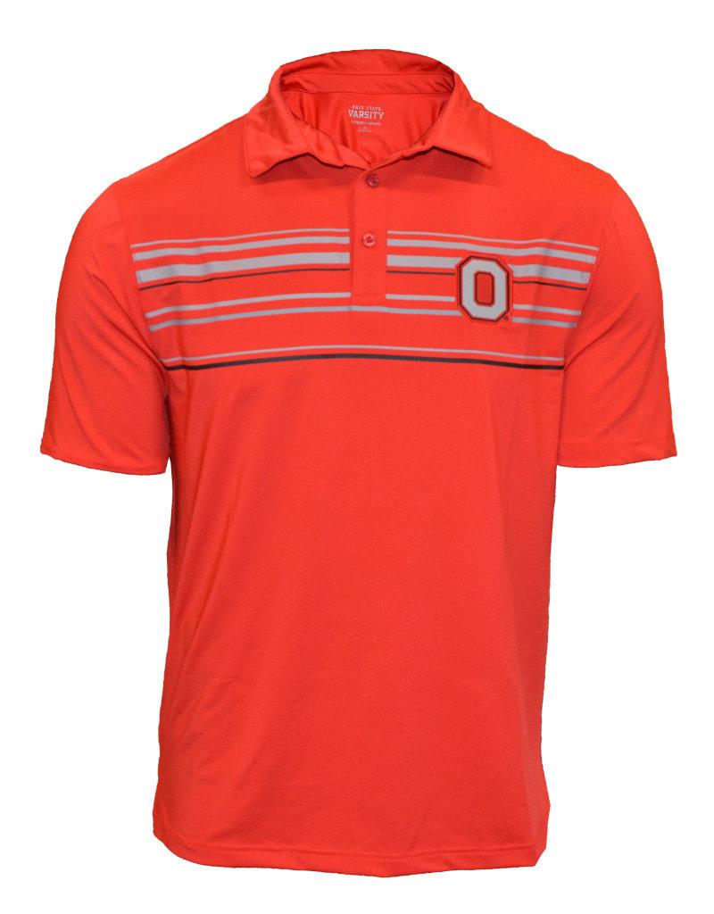 Top of the World Ohio State Buckeyes Stripe Polo