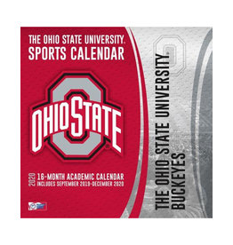 Ohio State Buckeyes 16 - Month Wall Calendar