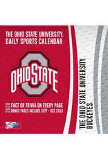TEAM CALENDAR Ohio State Buckeyes Desk Calendar