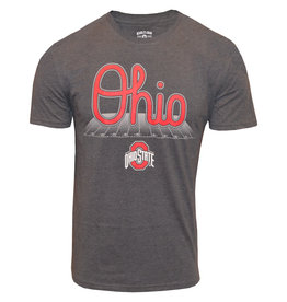 Top of the World Ohio State Buckeyes Script Ohio Across the Field Tee
