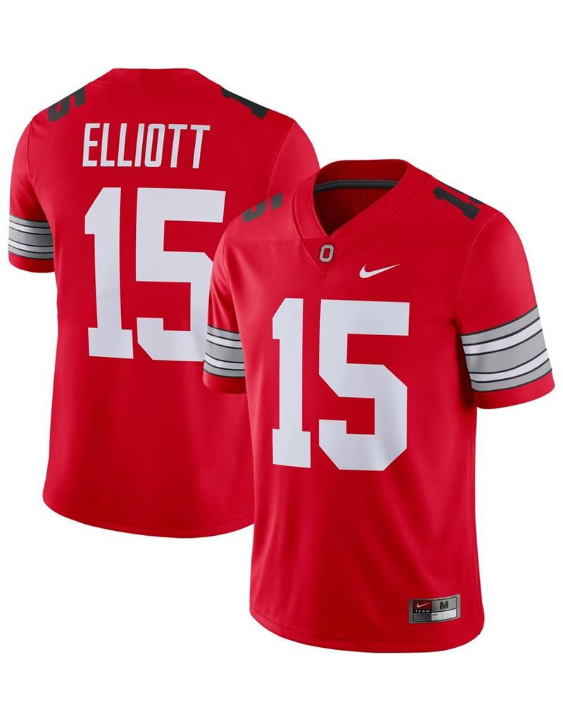 competitive price cba4b 03d1f Ezekiel Elliott Ohio State Buckeyes Nike Alumni Player Game Jersey