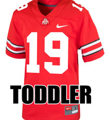Nike Ohio State Buckeyes Toddler #19 Nike Replica Football Jersey