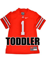 Nike Ohio State University Toddler Red #1 Nike Replica Jersey
