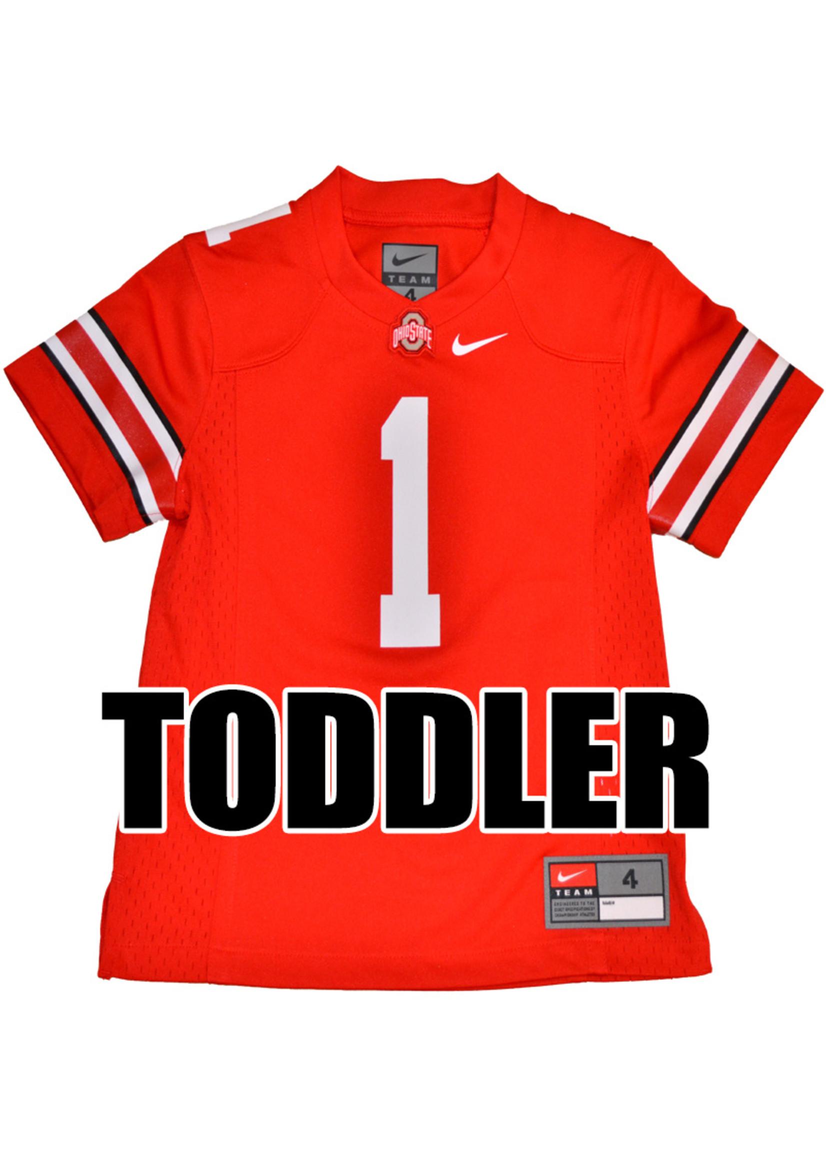 Nike Ohio State University Toddler #1 Nike Replica Jersey