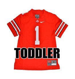 Nike Ohio State University Toddler Red #1 Nike Replica Jersey