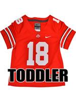 Nike Ohio State Buckeyes Toddler #18 Nike Replica Football Jersey