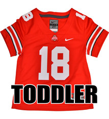 Nike Ohio State Buckeyes Toddler #18 Nike Replica Football Jersey