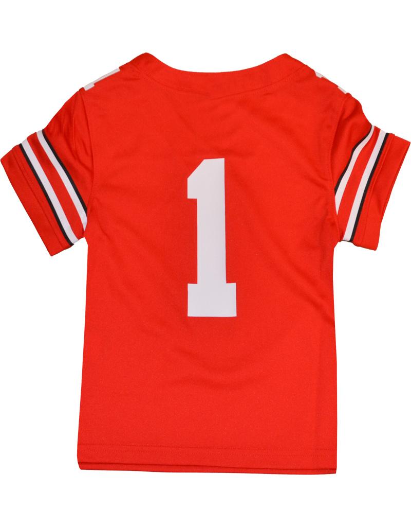 Nike Ohio State Buckeyes Toddler #1 Nike Football Jersey