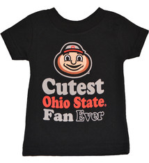 Ohio State Buckeyes Cutest Fan Ever Shirt