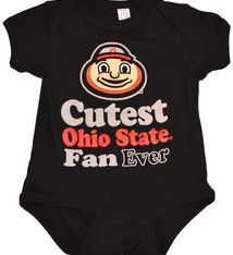 Ohio State Buckeyes Infant Cutest Fan Ever Creeper