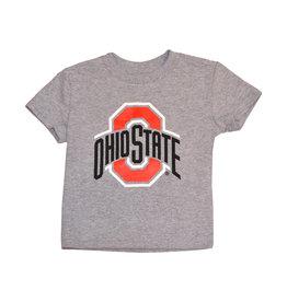 Ohio State Buckeyes Grey Toddler Tee