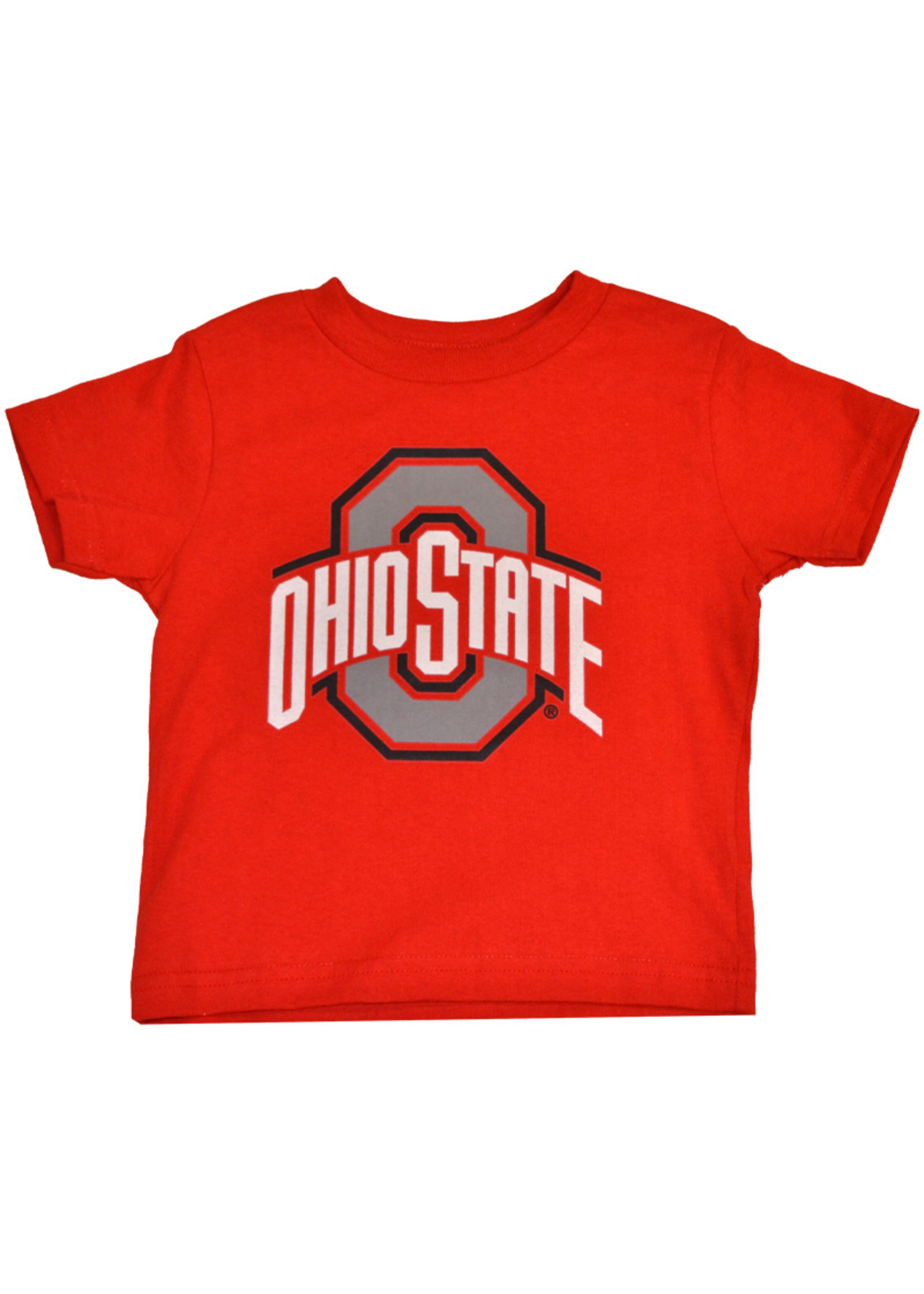 Ohio State Buckeyes Athletic O Red Tee