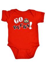 "Ohio State Buckeyes ""Go Bucks"" Red Creeper"