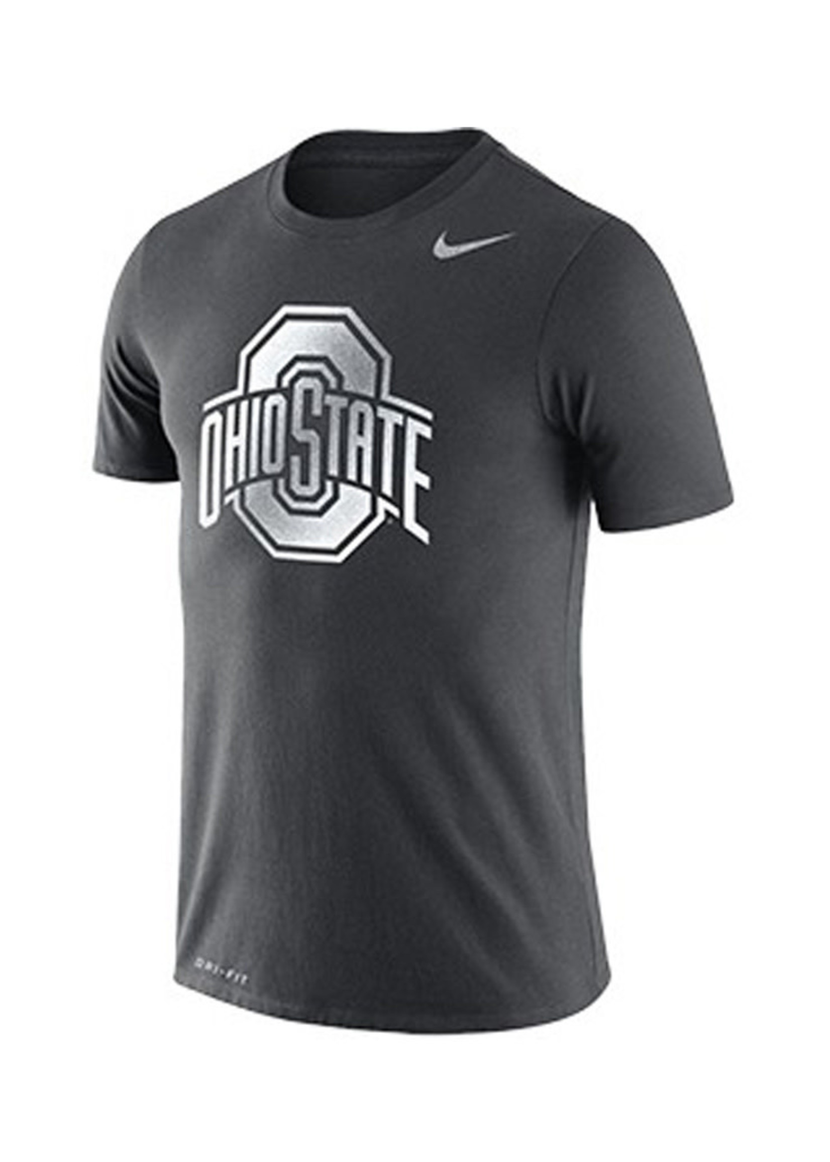 Nike Ohio State University Youth Silver Athetic O Tee