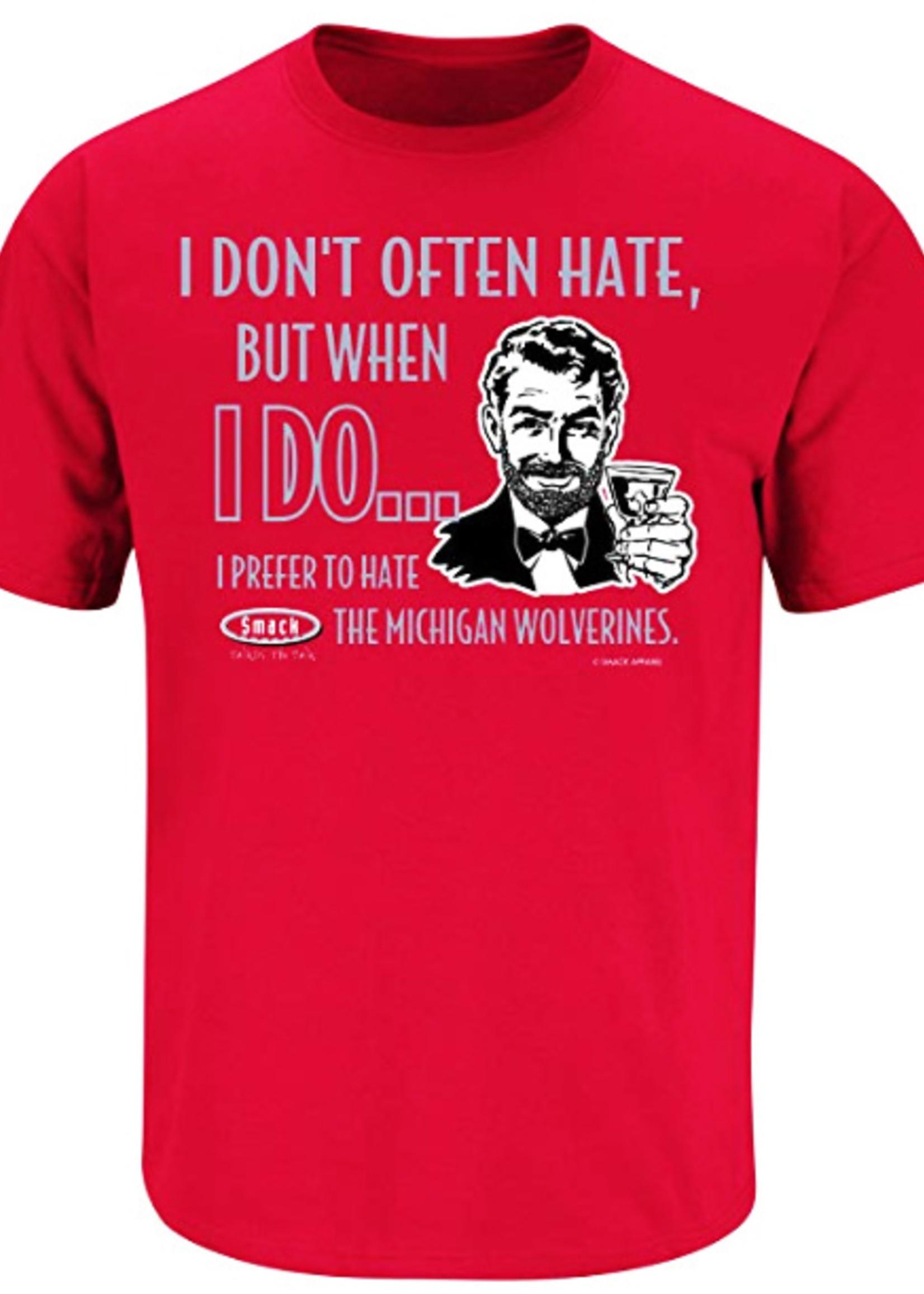 "Ohio State Buckeyes ""Prefer to Hate Michigan"" Shirt"