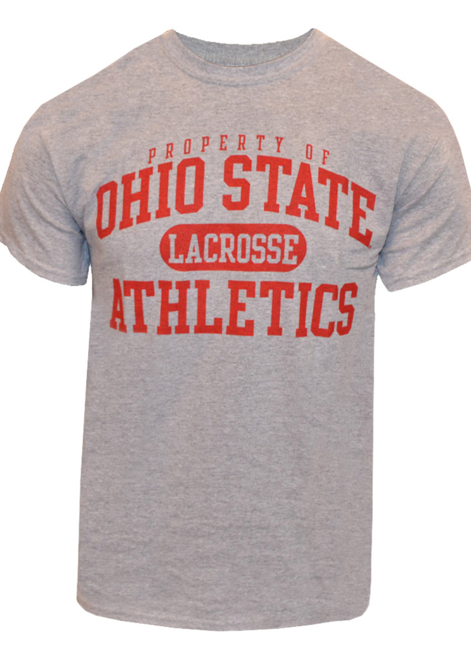 Top of the World Ohio State University Property Of Lacrosse Tee