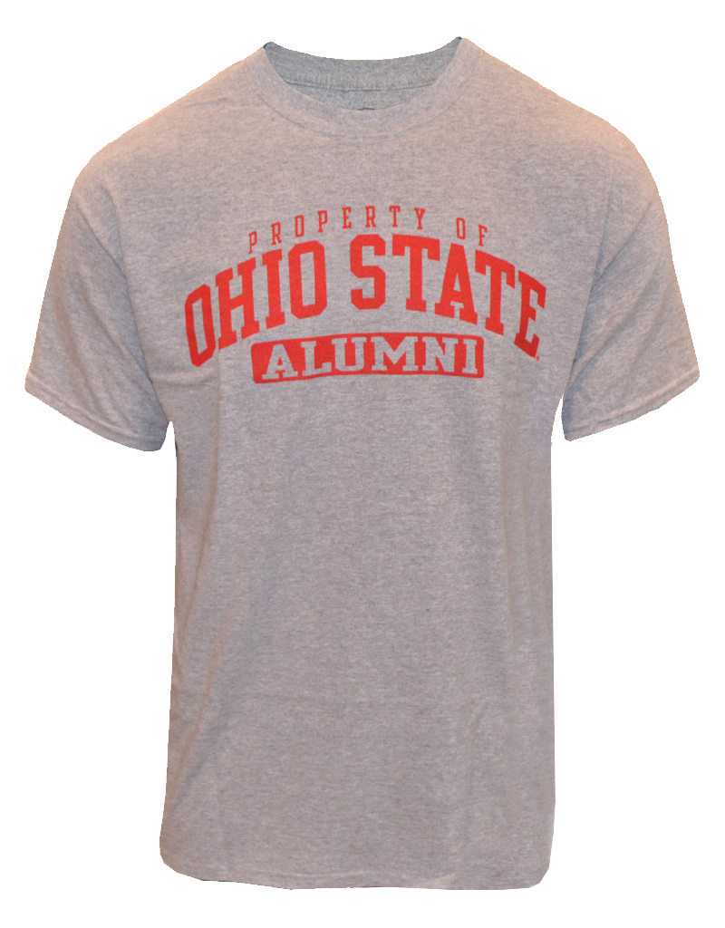 Top of the World Ohio State University Property Of Alumni Tee