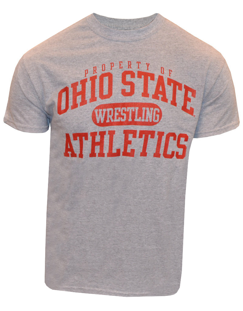 Top of the World Ohio State University Property Of Wrestling Tee