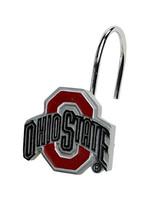 Ohio State Buckeyes Shower Curtain Rings