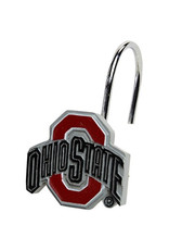 Ohio State Buckeyes Shower Curtain Rings