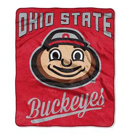 Ohio State Buckeyes Blanket 50x60 Raschel Alumni Design