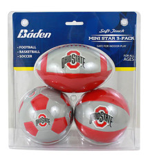 Ohio State University Soft Touch 3 Pack