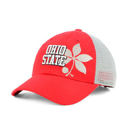 Top of the World Ohio State Buckeyes Womens Glitter Cheer Hat