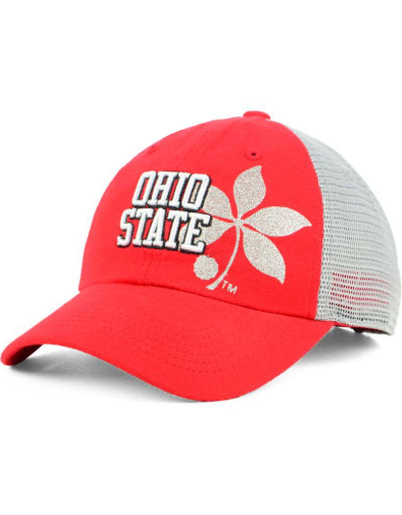 Top of the World Ohio State Buckeyes Womens Glitter Cheer Hat