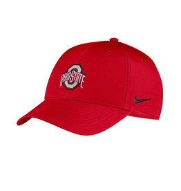 Nike Ohio State Buckeyes Nike Scarlet Legacy91 Adjustable Hat - Red