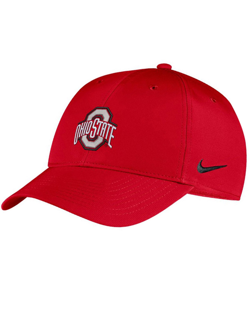 Nike Ohio State Buckeyes Nike Scarlet Legacy91 Adjustable Hat - Red