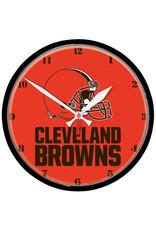Wincraft Cleveland Browns Orange Round Clock