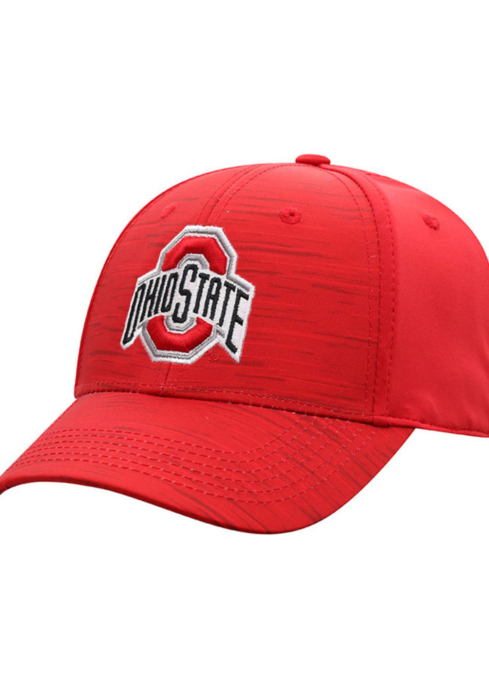 Top of the World Ohio State Buckeyes Mens Red Intrude 1Fit Flex Hat