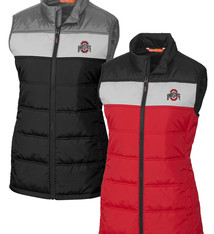 Cutter & Buck Ohio State Buckeyes Womens Thaw Sleeveless Jacket