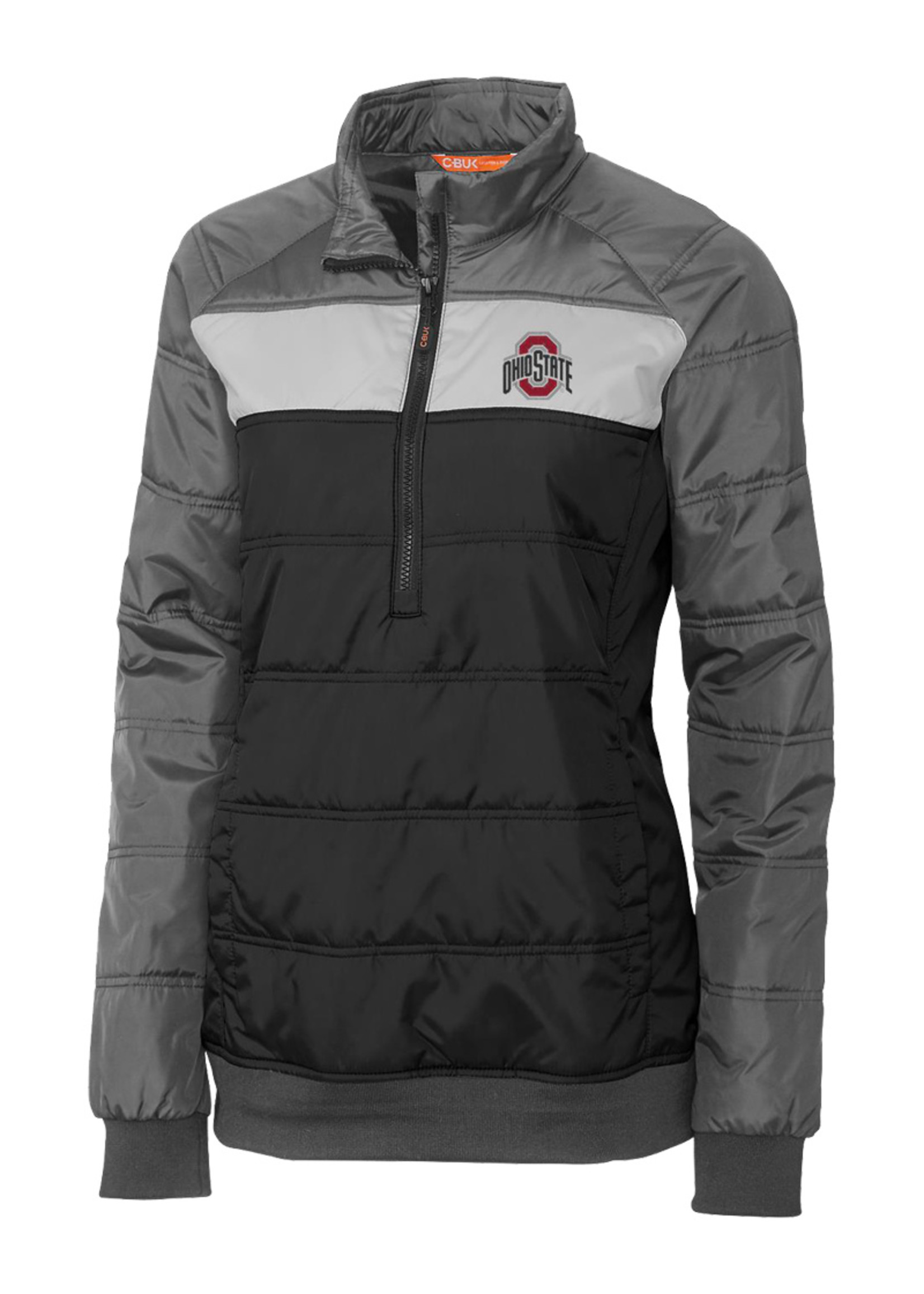Cutter & Buck Ohio State Buckeyes Womens Thaw Pullover Jacket